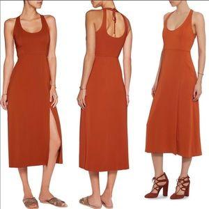 A.L.C. Leesa Scuba Tie Back Midi Dress
